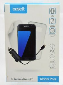 CASE IT Essential Starter Pack for Samsung Galaxy S7  NEW FREEPOST
