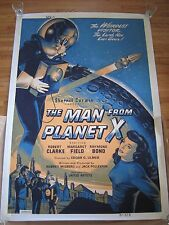 The Man From Planet X, Rare Vintage Movie Poster, Large Format 40 x 60