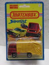 Vintage Matchbox Superfast #36 Refuse Truck