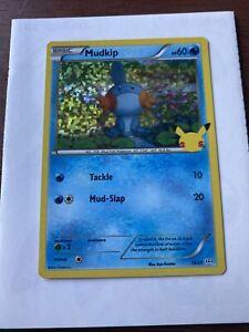 Mcdonalds pokemon Mudkip very nice Holo card