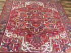 "8'3""x10' Handmade wool Authentic Unique Serapi Herizz Oriental area rug"