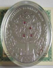 Niue 2 Dollars 2012 Fabergé Lorbeerbaum-Ei Silber