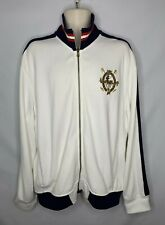 Vintage Polo Ralph Lauren Embroidered Equestrian Crest Full Zip Jacket Mens XL