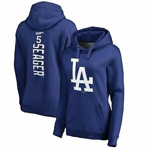Corey Seager Los Angeles Dodgers Fanatics Branded Women's Backer Pullover Hoodie