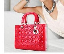Red Lady tote bag handbag