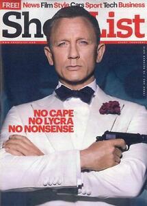 James Bond DANIEL CRAIG PHOTO INTERVIEW SHORTLIST MAGAZINE OCTOBER 2015