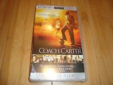 NEW Coach Carter PSP Movie UMD Video