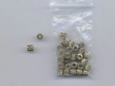 Gold Plated Jewellery Making Beads Tube