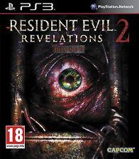 RESIDENT EVIL REVELATIONS 2 PS3 ESPAÑOL  NUEVO CASTELLANO PRECINTADO ESPAÑOL