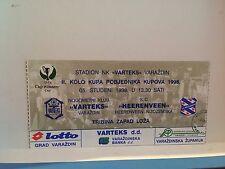 Football Ticket - UEFA -Varteks - SC Heerenveen