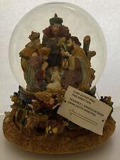 Kirkland Signature Musical Water Globe Snow Nativity Scene Item #109619