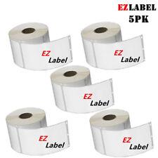 "EZLabel Dymo 30323 Address Labels 2 1/8"" x 4"" 220 labels/roll - 5PK"