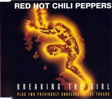 RED HOT CHILI PEPPERS: BREAKING THE GIRL – 3 TRACK CD SINGLE