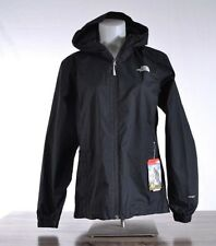 NWT The North Face Women's Quest Rain Jacket MEDIUM Black Waterproof T0A8BAKX7