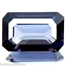 2.45 cts FLAWLESS RARE 100% NATURAL UNHEAT BEST SILVER BLUE SPINEL NICE CUT GEM!