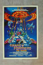 The Trans Formers The Movie Lobby Card Movie Poster #1 Judd Nelson Leonard __