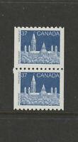 CANADA 1194i scarce coil pair