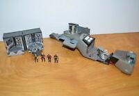 Vintage STAR TREK INNERSPACE MICRO PLAYSET Lot Borg Cube Phaser 1995 Playmates