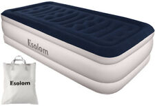Inflatable High Raised Single Air Bed Mattress Blow Up Mattress | Size 75x39x18