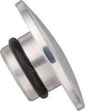 Yamaha SR500 Gabelstopfen Abdeckkappen Set Alu poliert Fork Top Nut Cover