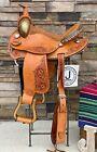 "14"" Ammerman Round Skirt Barrel Saddle, Western, Ranch Saddle- New"