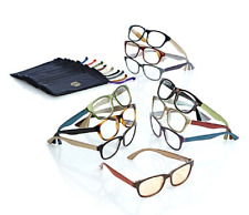 JOY 20-piece Couture SHADES Readers with Smart Lenses and Designer Frames, +3.50