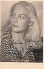 Margot Trooger+ - original signierte tolle Autogrammkarte TOP SELTEN