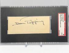 Dan Topping signed cut SGC Slabbed d.1974 Yankees Owner C66