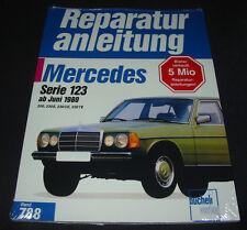 Reparaturanleitung Mercedes W 123 200 230 E 230 CE 230 TE ab Juni 1980 NEU!