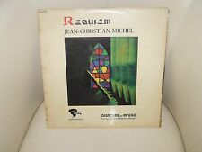 DISQUE 33 T JEAN-CHRISTIAN MICHEL  REQUIEM