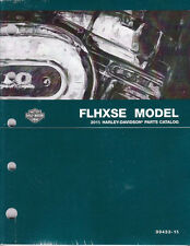 2015 Harley Touring Electra FLHXSE CVO Street Glide Parts Manual Catalog
