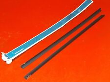 NOS ORIGINAL GM 1989-1994 Chevrolet Geo PAIR windshield wiper inserts 12344996