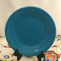 Fiestaware Peacock Lunch Plate Fiesta Retired Blue 9 inch Luncheon NWT