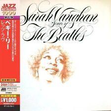 Songs of The Beatles 0081227959876 by Sarah Vaughan CD