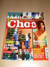 Entrevue Présente CHOC N°19 février 2005 Marjolaine Liz Hurley