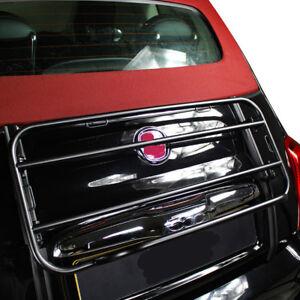 Rear Rack Carrier Luggage for Fiat 500C Edizione Nero 2007-heute