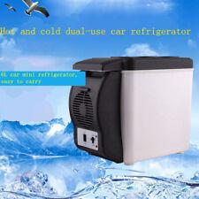 Portátil Mini Coche Nevera Refrigerador pecho de hielo 6L eléctrico viaje Yate Barco SUV