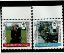 Ascension 1986 Andrew Wedding SG408-09 MNH