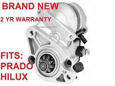 Starter Motor for TOYOTA LANDCRUISER PRADO & HILUX VZJ95R 5VZFE 3.4L V6 96-03