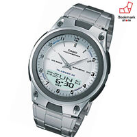"New"" CASIO Chronograph Watch Silver AW-80D-7AJF Standard Men's From JPN"