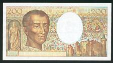 Billet  de 200  FR montesquieu 1988 C 062 TB