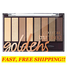 NEW! COVERGIRL TRUNAKED Eyeshadow Palette ~ #810 GOLDENS ~ Easy, Breezy Tip