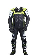 Berik 2.0 Defence Race 1-piece Suit Full Grain Cow Leather Black/Yellow Size 56