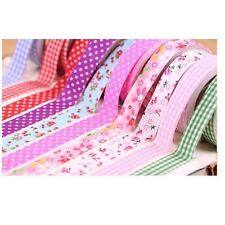 Colorful Flower Pattern WASHI tape sticker Decorative Paper Tape Washi Tape GD