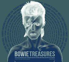 Bowie Treasures by Mike Evans (2014, Hardcover) Ziggy Stardust Space Oddity