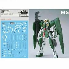 For Bandai MG 1/100 GN-002 Gundam Dynames Paper Water Stickers Decal Model Set