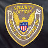 "NORTH STATE EMBROIDERED SEW ON PATCH SUPPLY SECURITY OFFICER 4"" x 4 1/2"""