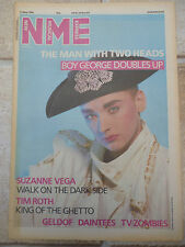 """CULTURE CLUB, BOY GEORGE, NME COLOUR COVER, POSTER, 11.75"""" X 16.75"""""""