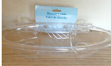 Clear Acrylic, Shower Caddy, by Marine Blue, Suction Cup Attachment, New