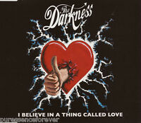 THE DARKNESS - I Believe In A Thing Called Love (UK 3 Tk CD Single)